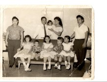 Mr. Roberto Hung Juris Doctor, His Wife and Daughter during Catholic Baptism on August 1st 1959