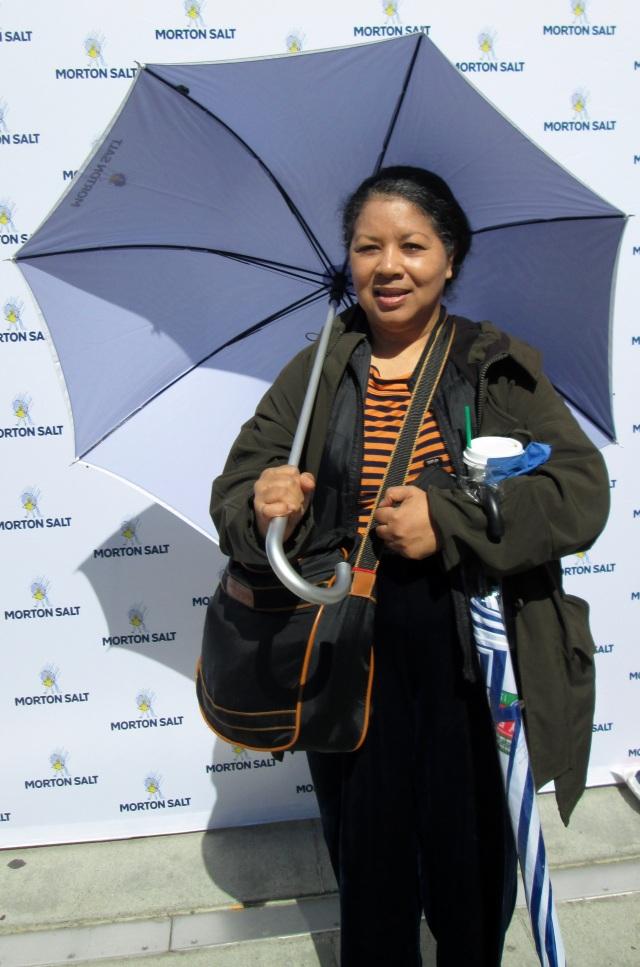 Morton Salt Girl Umbrella Photo At The Pioneer Court Noon