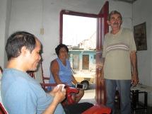 Reunión de familia en abril 1-29, 2016 en Santiago de Cuba